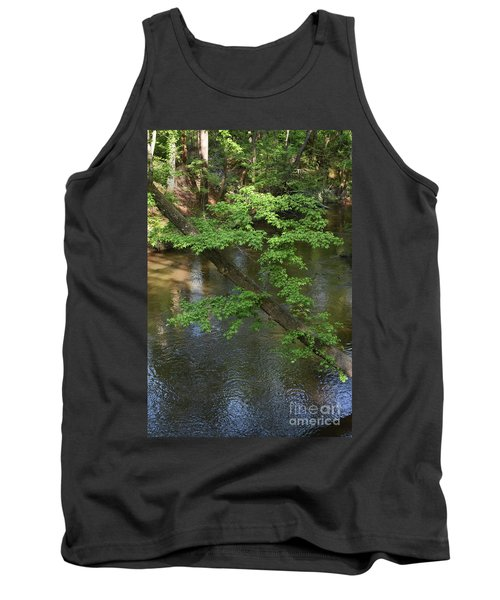 Tank Top featuring the photograph Green Is For Spring by Skip Willits