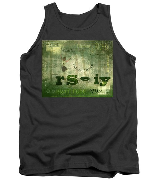 Green Knowings Tank Top