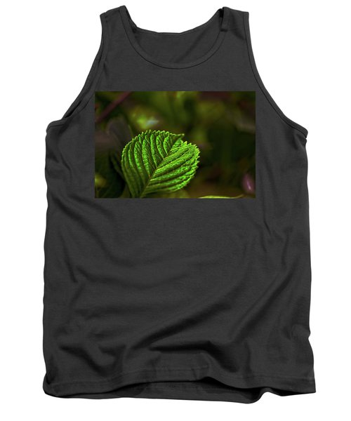Green Leaf Tank Top