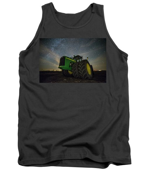 Tank Top featuring the photograph Green Machine  by Aaron J Groen