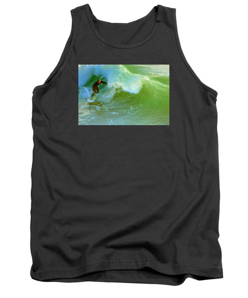 Green Machine Tank Top
