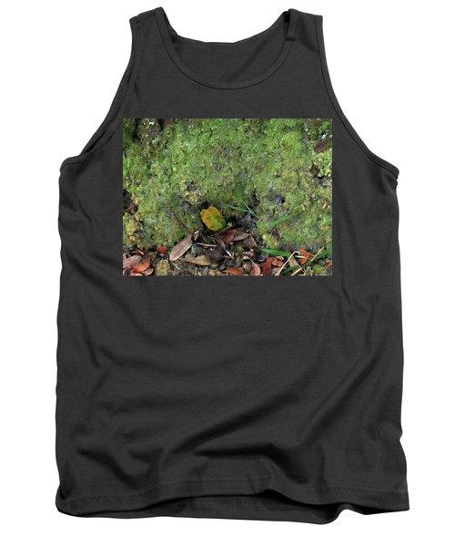Green Man Spirit Photo Tank Top