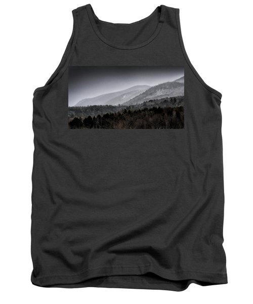 Green Mountains - Vermont Tank Top by Brendan Reals