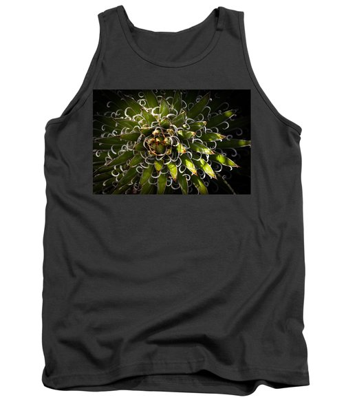 Green Plant Tank Top