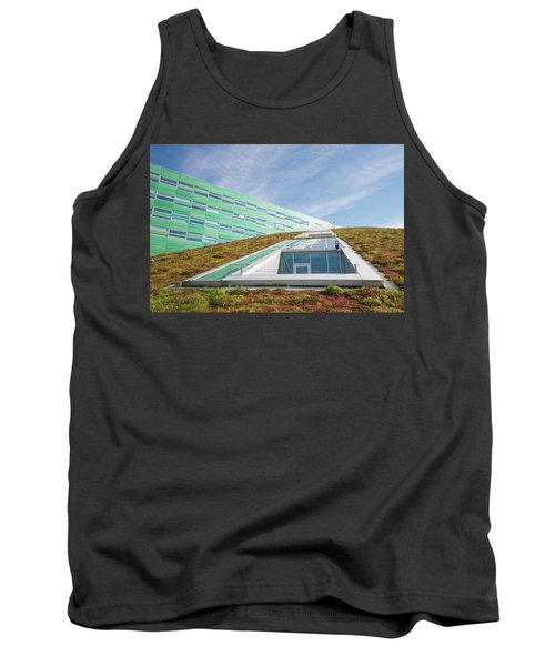 Green Roof Tank Top by Hans Engbers