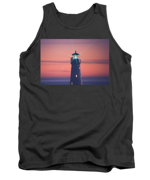 Tank Top featuring the photograph Green Star by Lora Lee Chapman