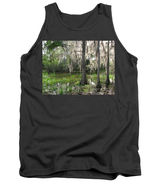 Green Swamp Tank Top