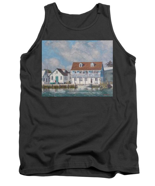 Green Turtle Cay Past And Present Tank Top