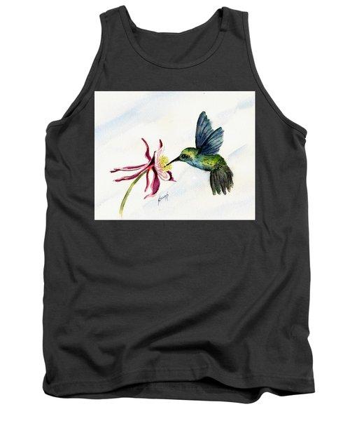 Green Violet-ear Hummingbird Tank Top