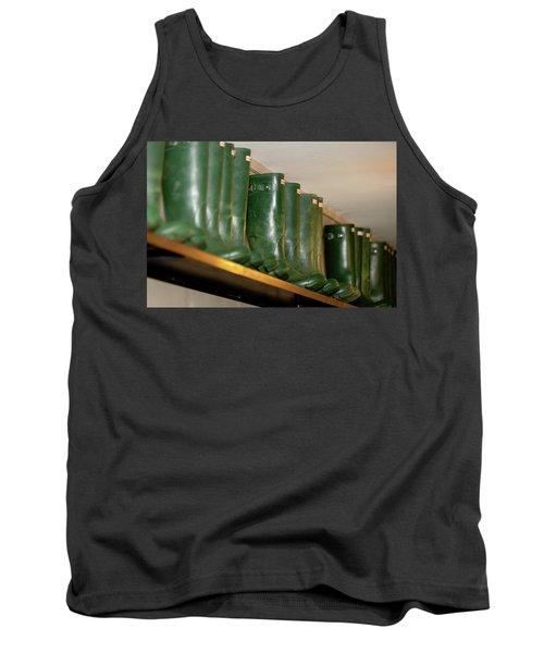 Green Wellies Tank Top
