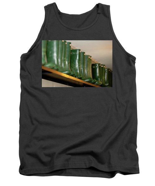Green Wellies Tank Top