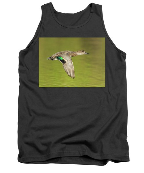 Green-winged Teal 6320-100217-2cr Tank Top