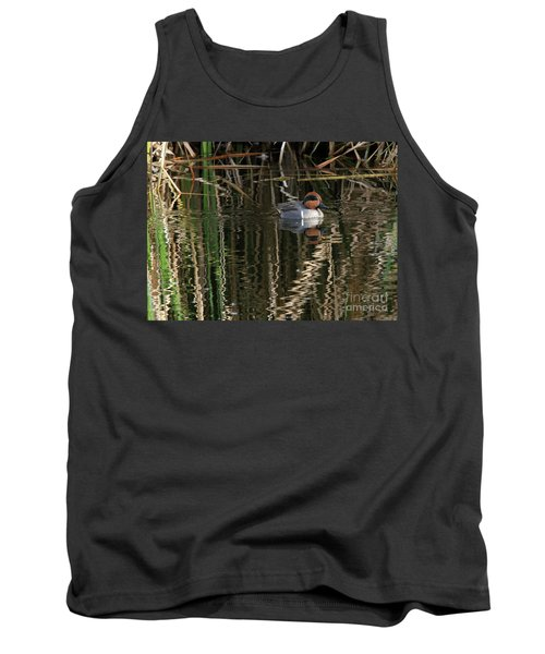 Green Winged Teal  Tank Top