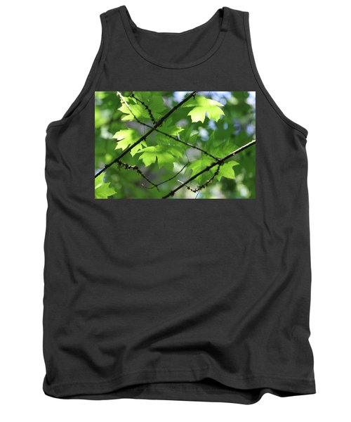 Greenleaves Tank Top