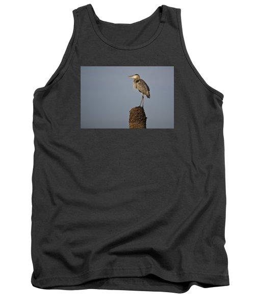Grey Heron Tank Top