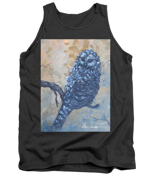 Grey Owl1 Tank Top