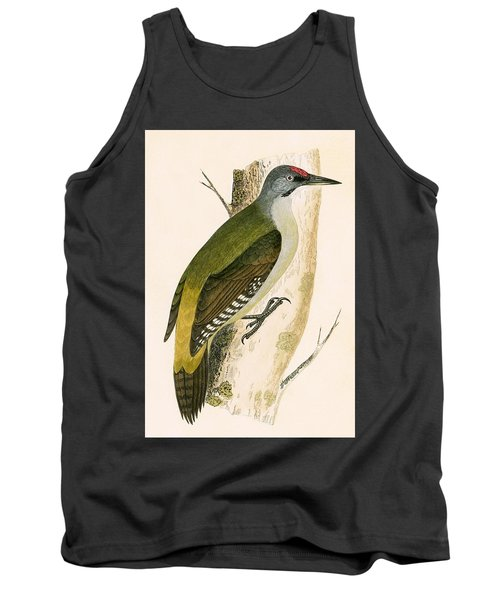Grey Woodpecker Tank Top