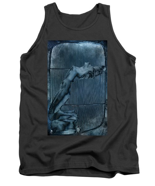 Tank Top featuring the digital art Grill Of The Ride by Greg Sharpe