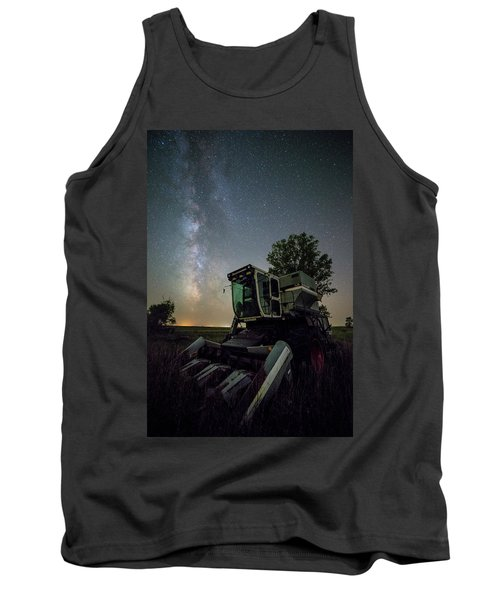 Tank Top featuring the photograph Grim Gleaner  by Aaron J Groen