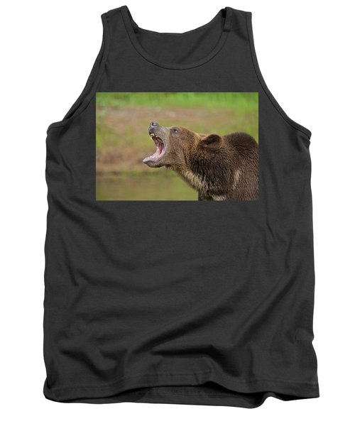 Grizzly Bear Growl Tank Top
