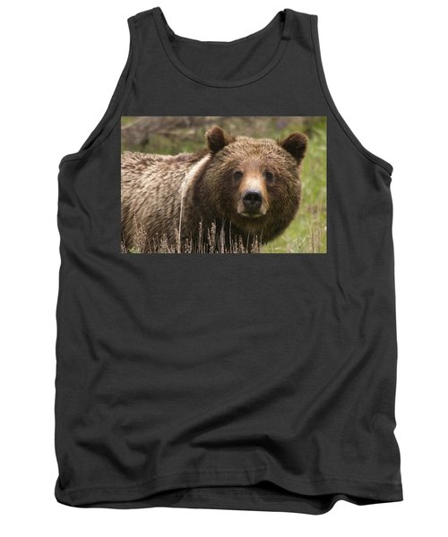 Grizzly Portrait Tank Top