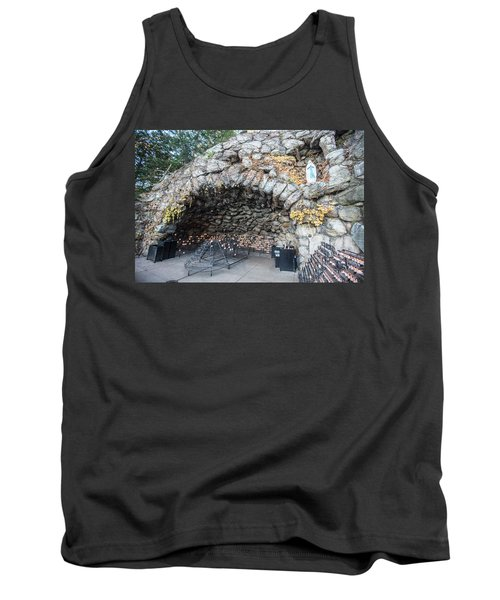 Grotto Of Our Lady Of Lourdes 2 Tank Top