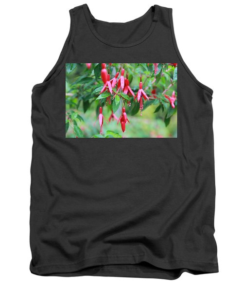 Tank Top featuring the photograph Growing In Red And Purple by Laddie Halupa