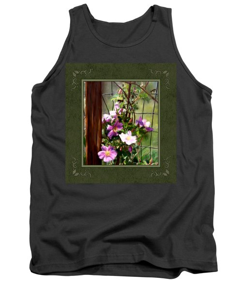 Tank Top featuring the digital art Growing Wild by Susan Kinney