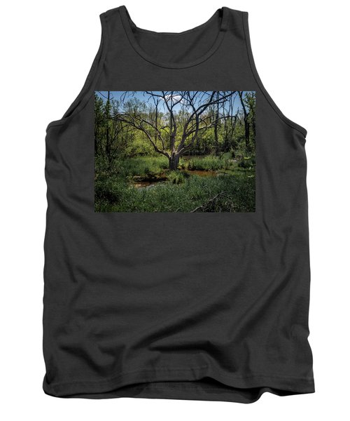 Growning From The Marsh Tank Top