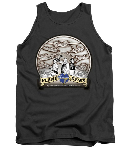 Grumman Plane News Tank Top
