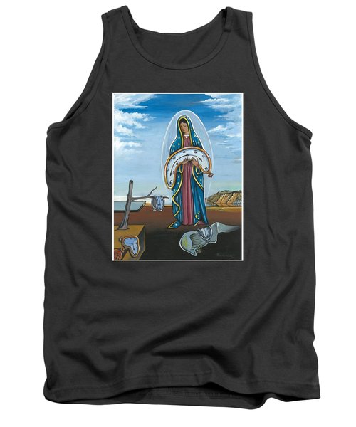 Guadalupe Visits Dali Tank Top by James Roderick