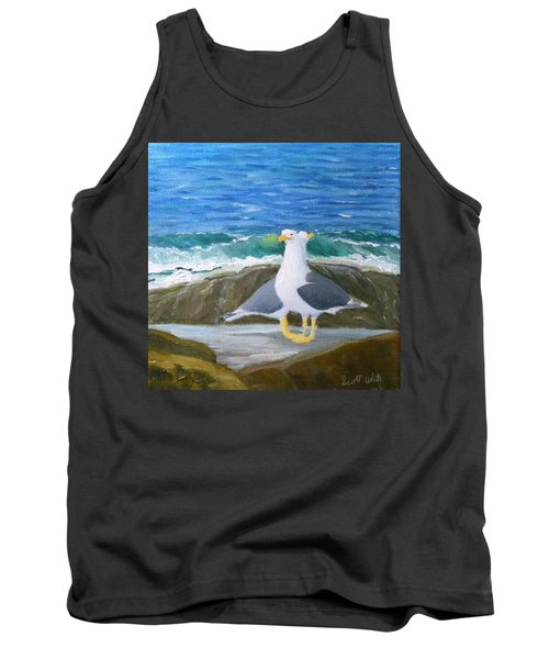 Guarding The Land And Sea Tank Top