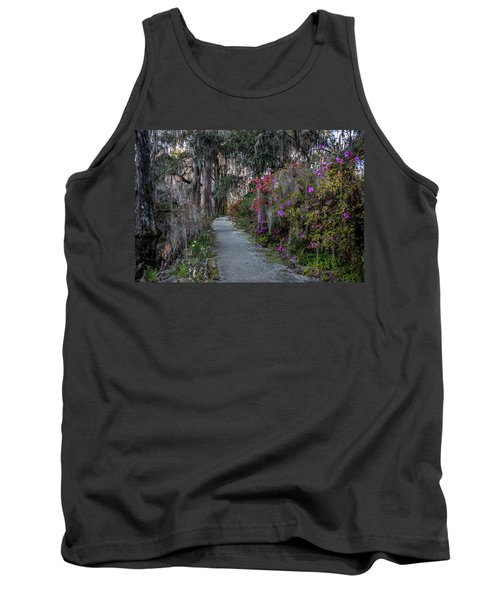 Guide Our Feet Into The Path Of Peace. Luke 1.79  Tank Top