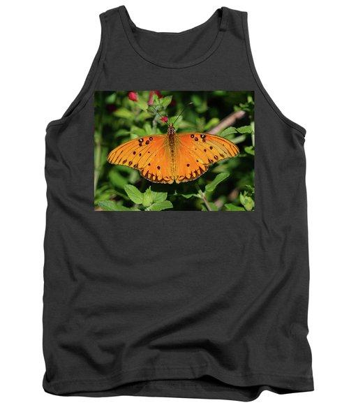 Gulf Fritillary Butterfly Tank Top