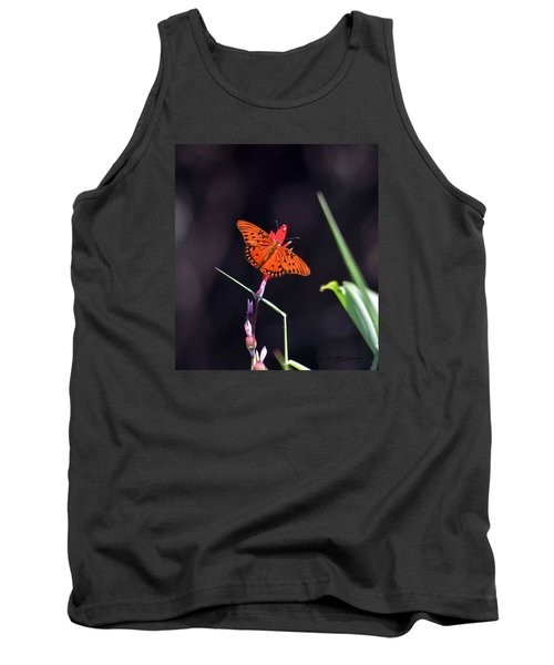 Gulf Fritillary Butterflyl Tank Top
