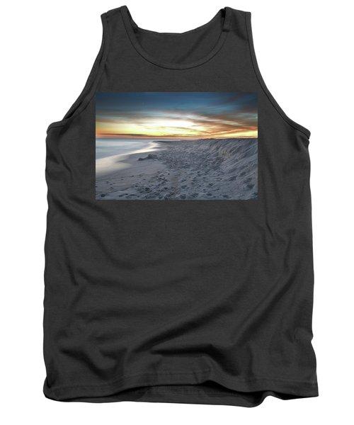 Gulf Island National Seashore Tank Top by Renee Hardison