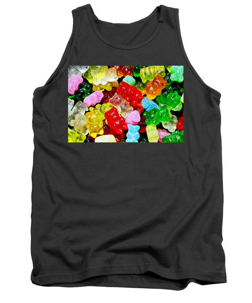 Tank Top featuring the photograph Gummy Bears by Vivian Krug Cotton