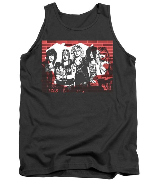 Guns N Roses Graffiti Tribute Tank Top