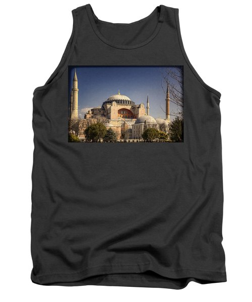 Tank Top featuring the photograph Hagia Sophia by Joan Carroll