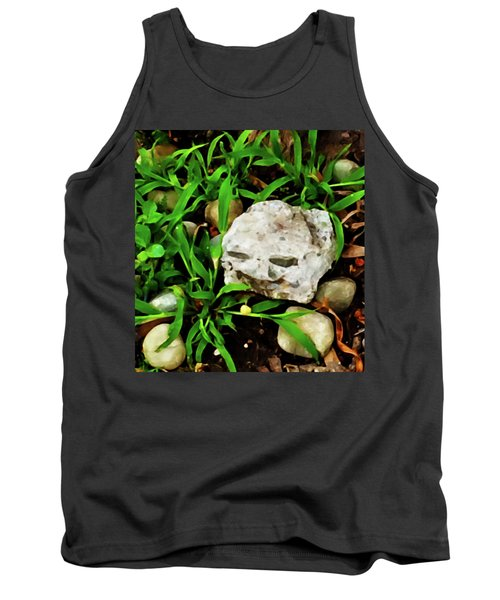 Haight Ashbury Smiling Rock Tank Top