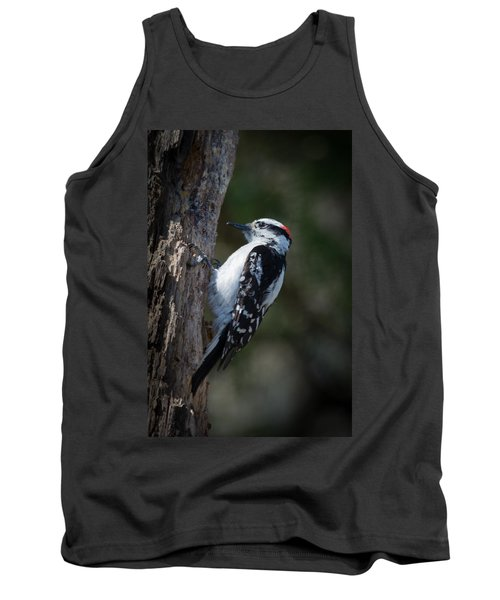 Downy Woodpecker Tank Top by Kenneth Cole