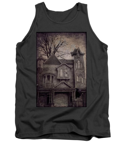 Halloween In Old Town Tank Top