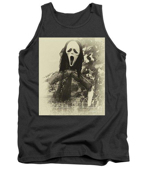 Halloween No 1 - The Scream  Tank Top