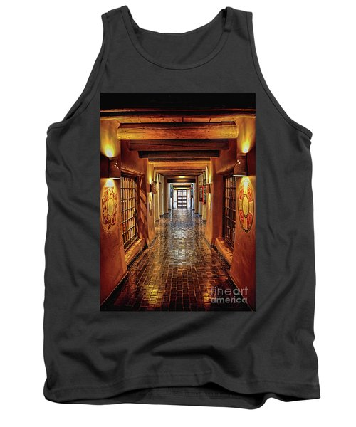 Tank Top featuring the photograph Halls Of Loretto by Gina Savage