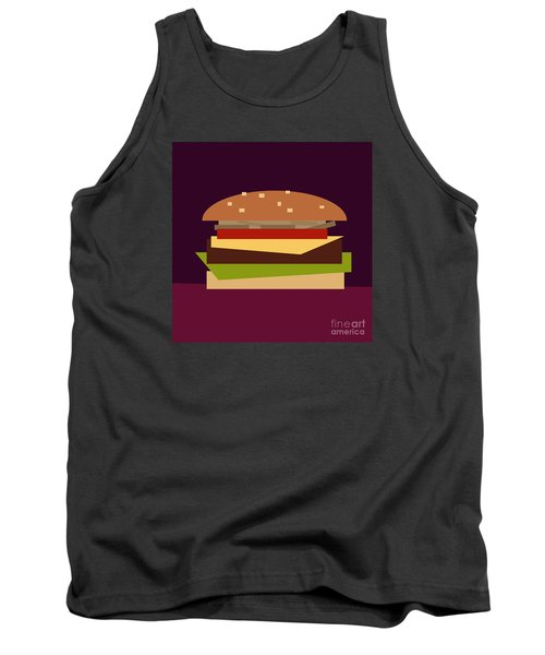 Hamburger Tank Top