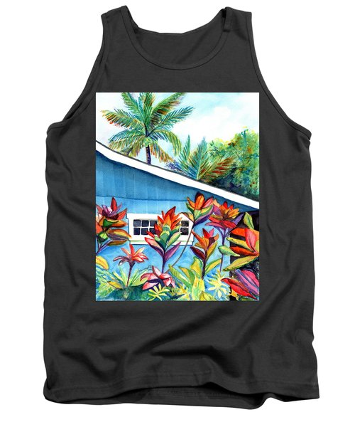 Hanalei Cottage Tank Top by Marionette Taboniar
