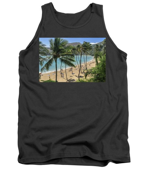 Tank Top featuring the photograph Hanauma Bay by Steven Sparks