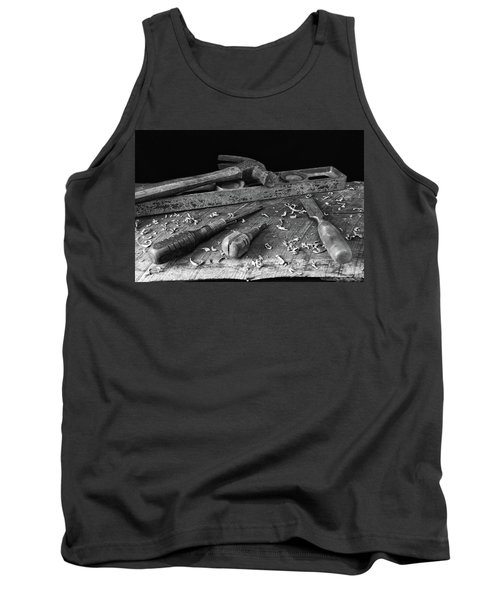 Hand Tools 2 Tank Top by Richard Rizzo