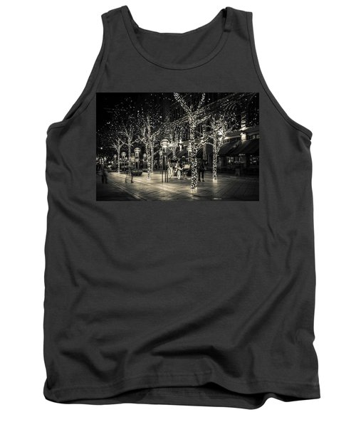 Handsome Cab In Monochrome Tank Top by Kristal Kraft