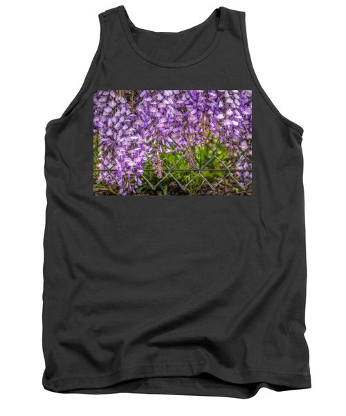 Hanging On The Fence, Wisteria Tank Top